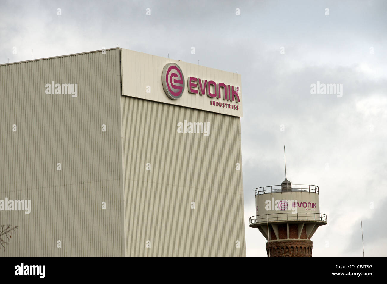 Evonik Industries Germany - Stock Image