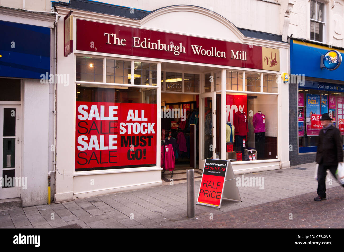 uk high street clothes clothing shop shops the edinburgh woollen