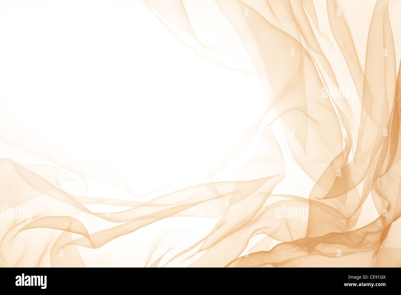 Abstract soft chiffon texture background - Stock Image