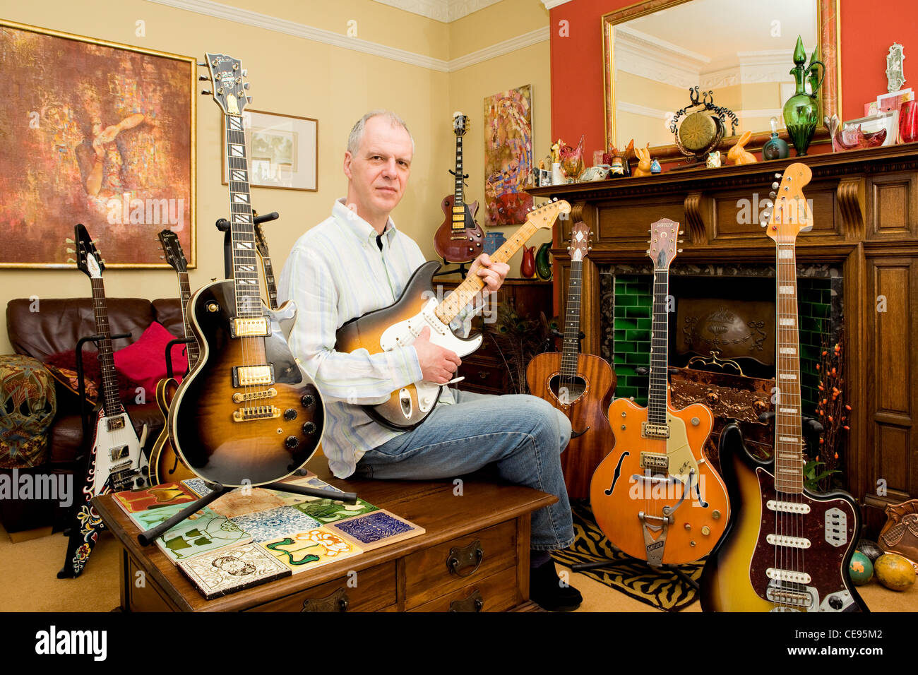 David Brewis of Rock Stars Guitars at