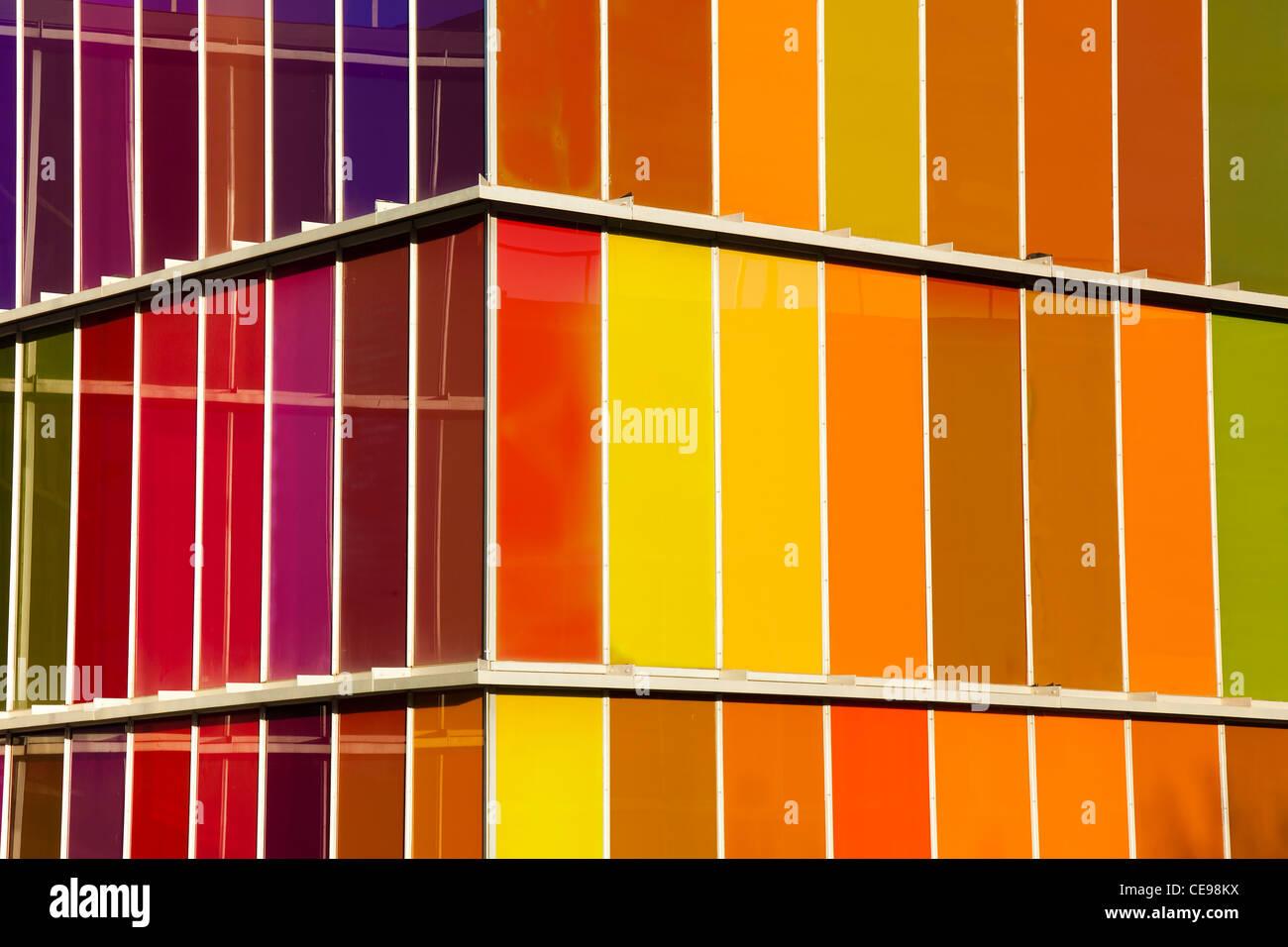 MUSAC museum, Leon, Castilla y Leon, Spain - Stock Image