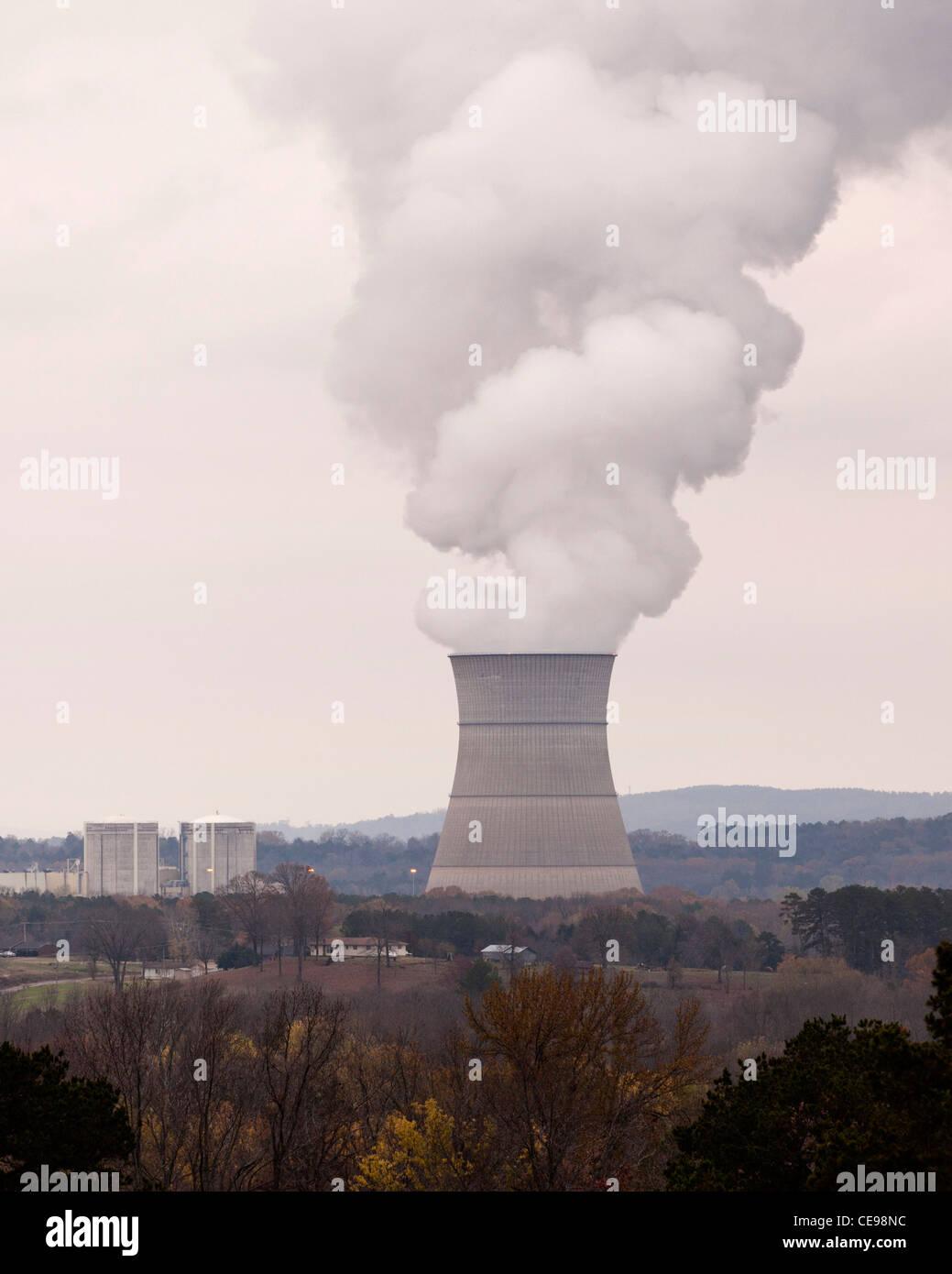Arkansas Nuclear One power plant - Russellville, Arkansas USA - Stock Image