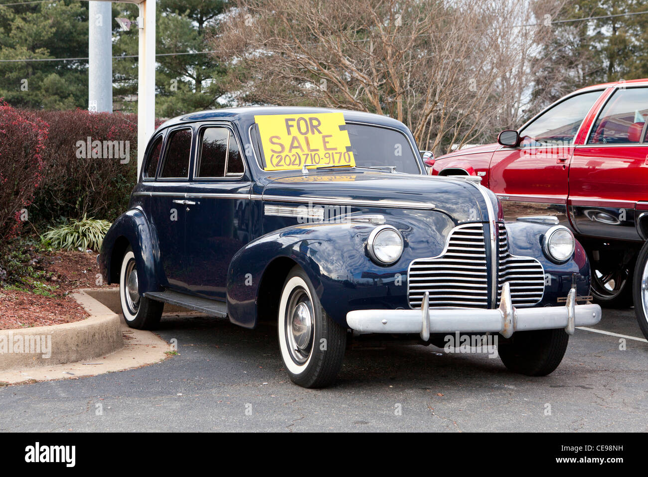 Old Car For Sale >> 1941 Buick Special Vintage Car For Sale Usa Stock Photo