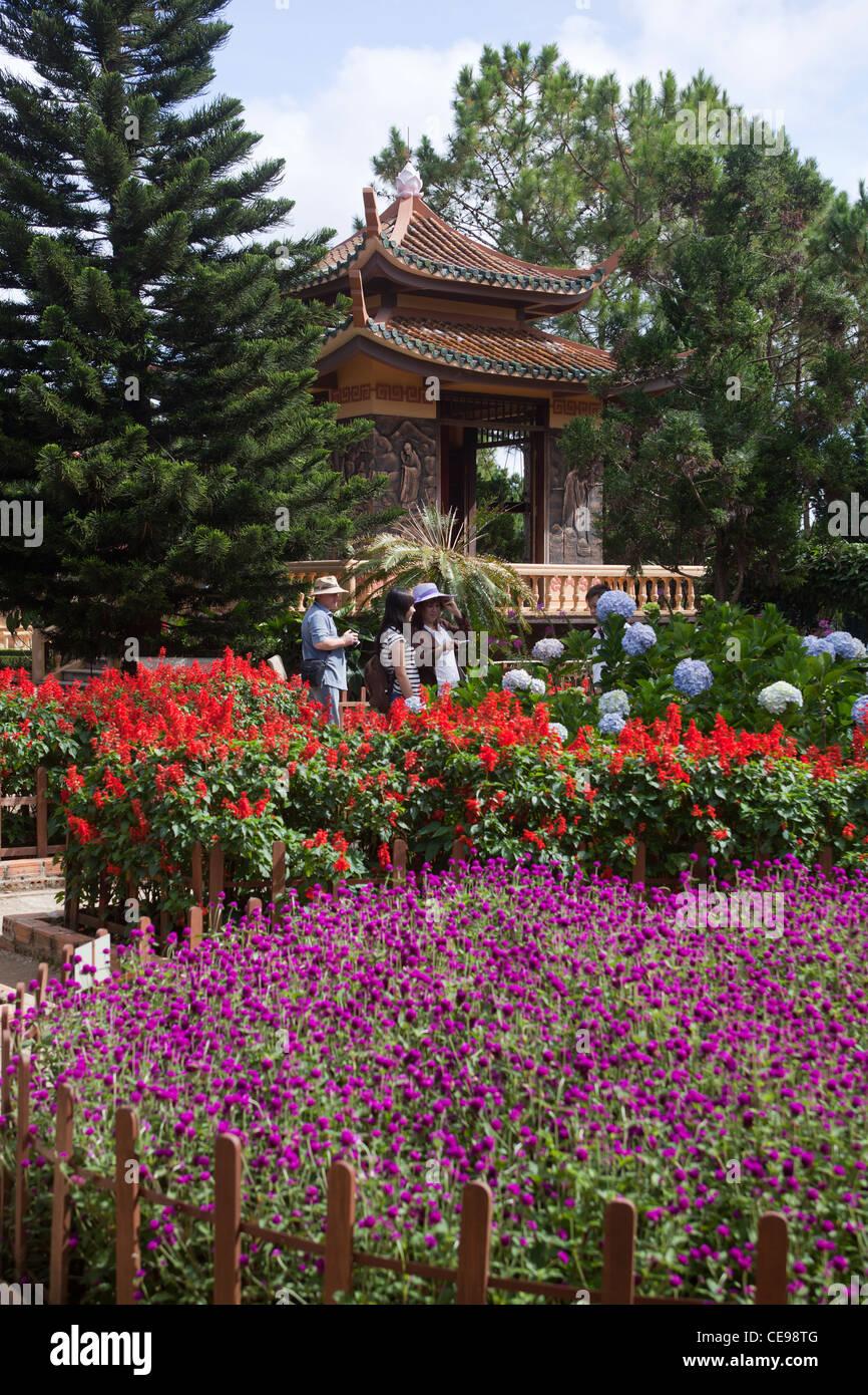 Trúc Lâm Temple Dalat - Stock Image