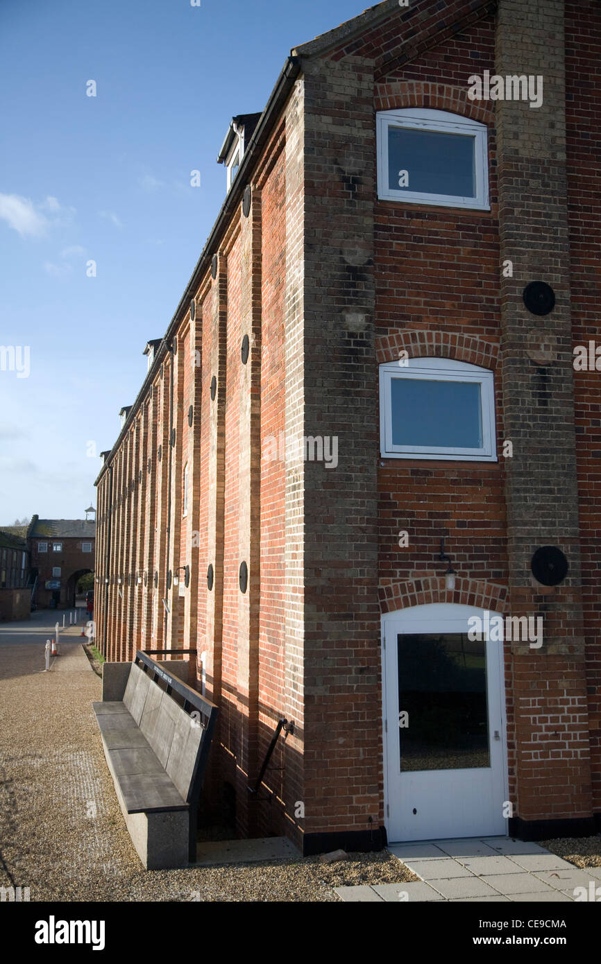 Britten-Pears building Snape maltings, Suffolk, England - Stock Image
