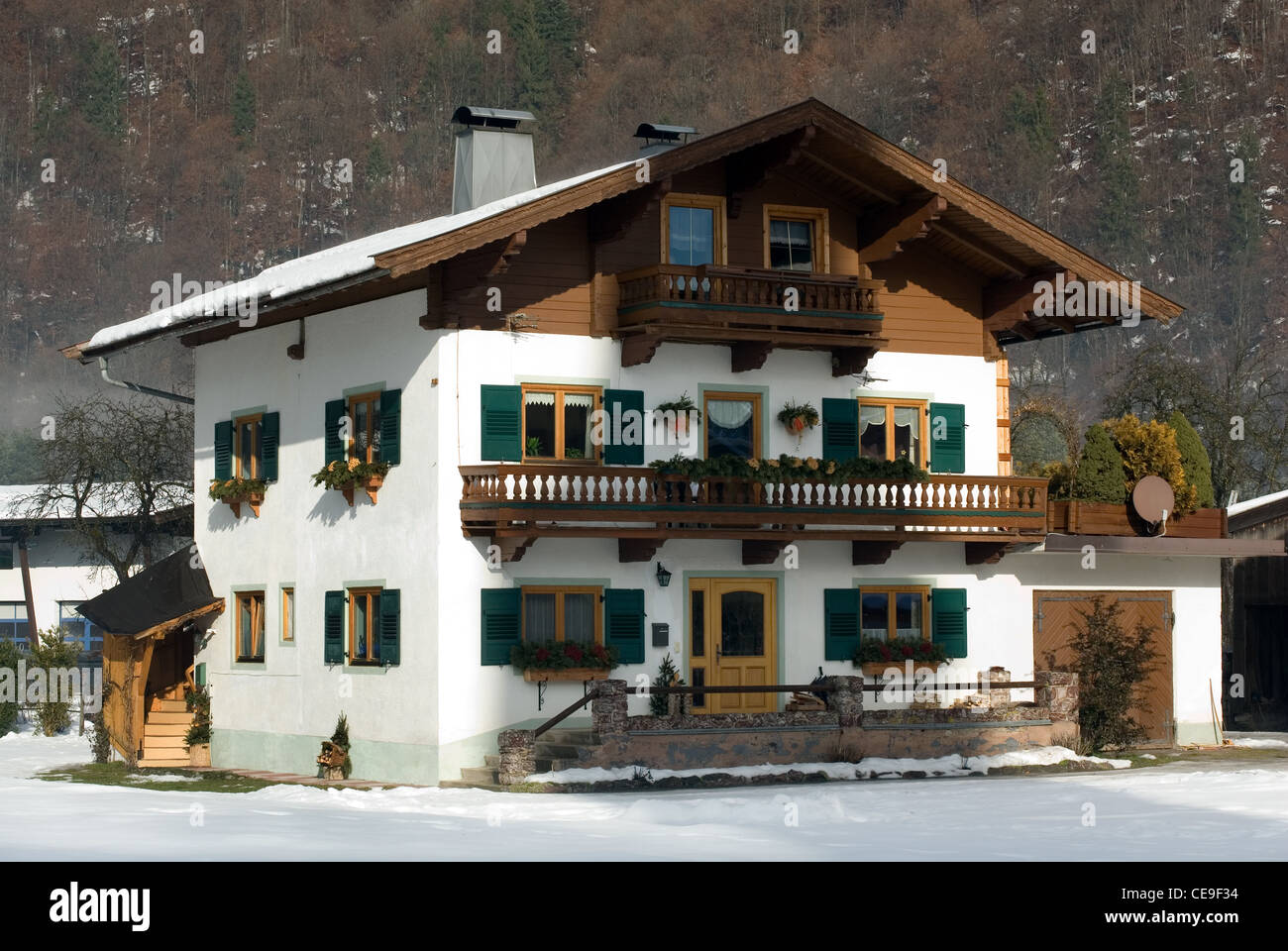 A Traditional Chalet In Village Austria