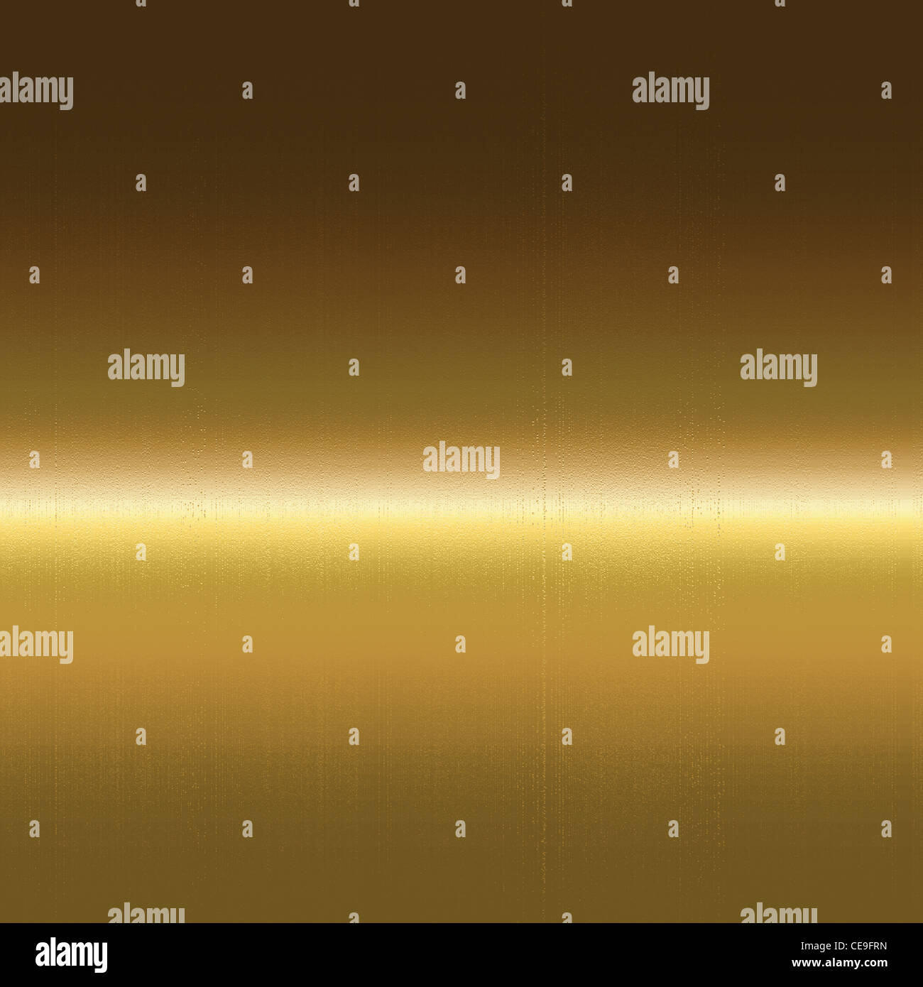 gold metal surface texture, background to insert text or design - Stock Image