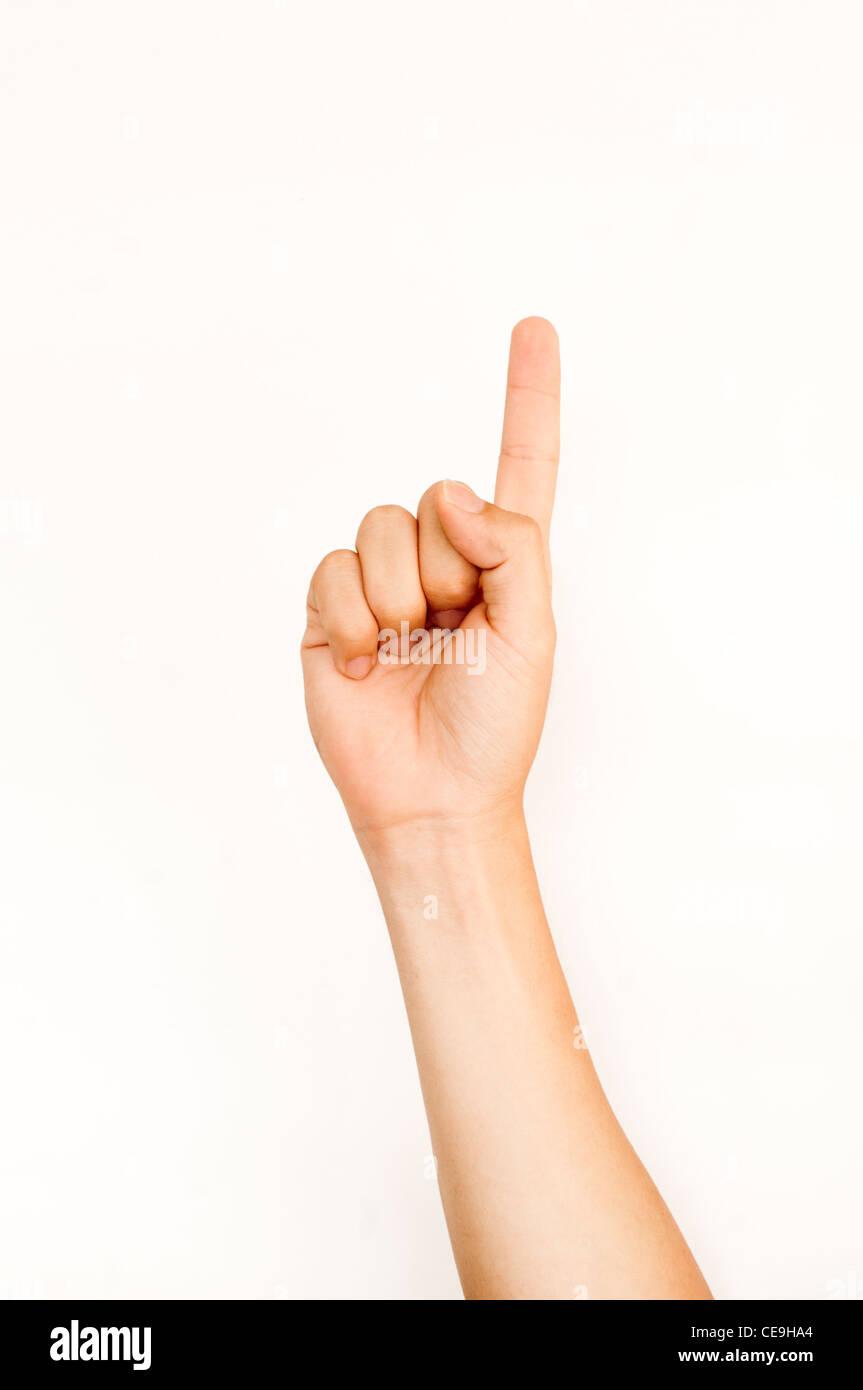 Number Gesture