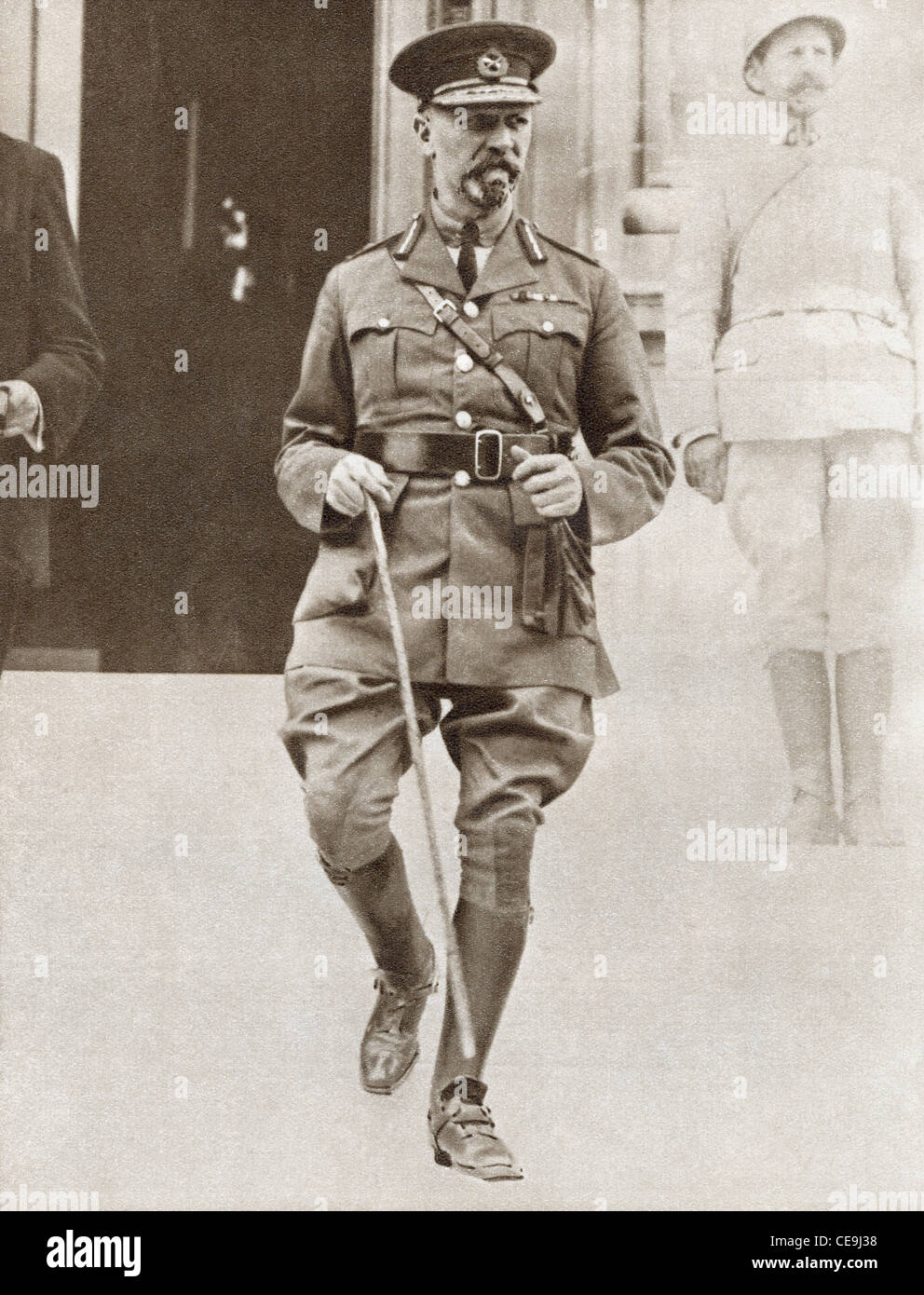 Jan Christiaan Smuts,1870 – 1950. South African military leader and politician. - Stock Image