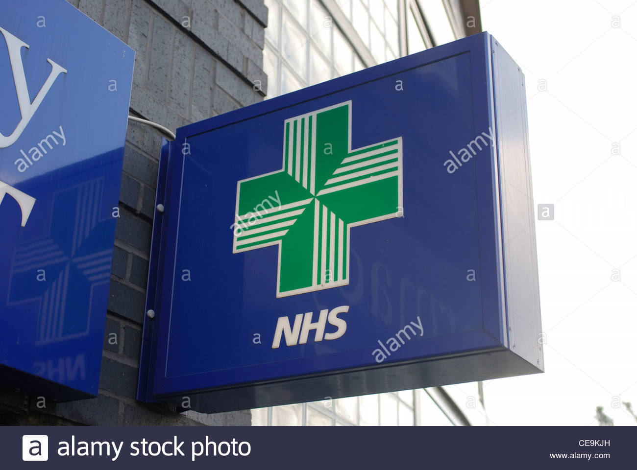 Southampton United Kingdom NHS pharmacy sign - Stock Image