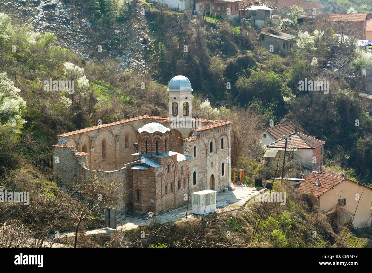 An old empty church in the city of Prizren, Kosovo - Stock Image