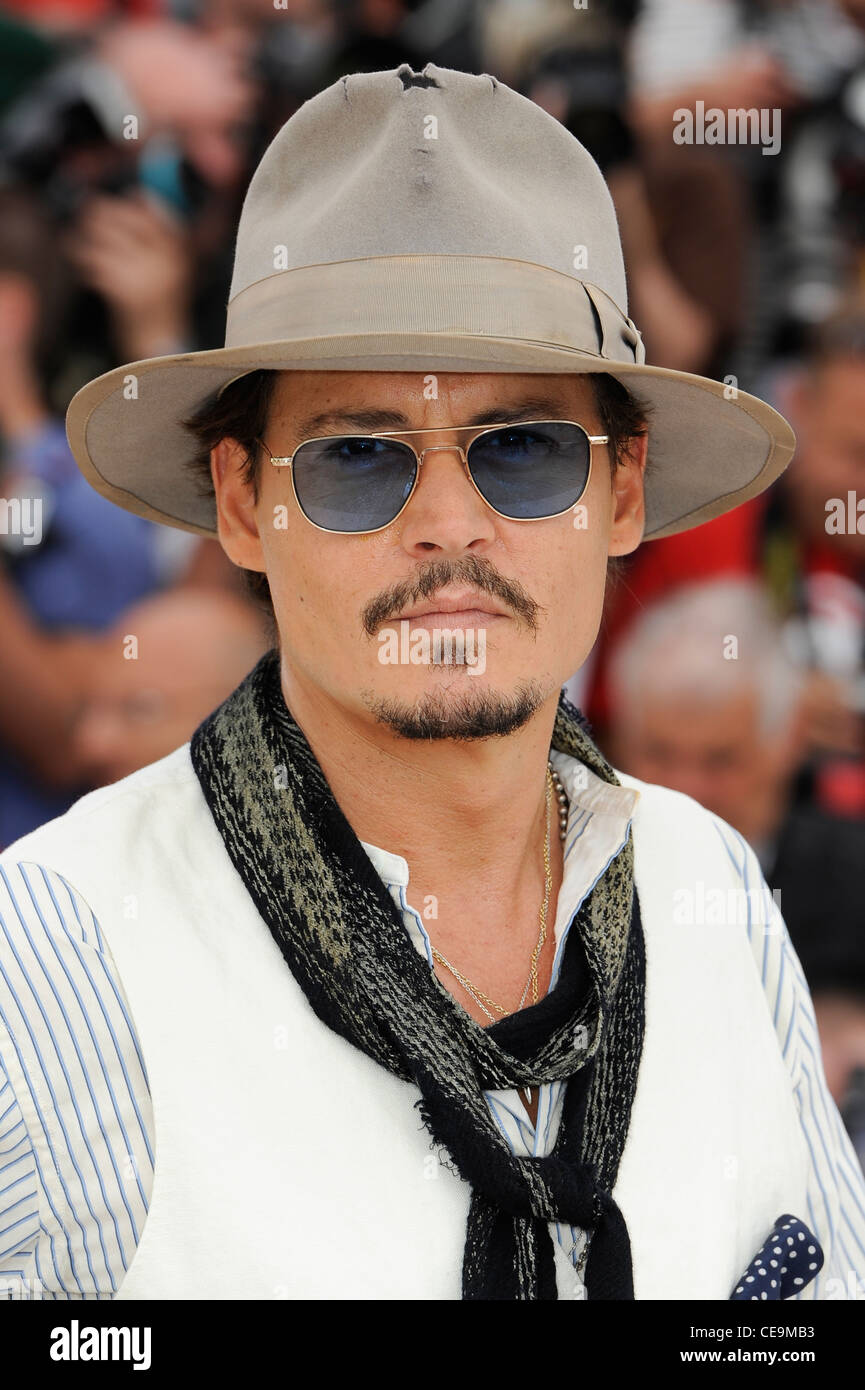 a4109c38c0a1 Johnny Depp during a photo call for Pirates of the Caribbean  On Stranger  Tides at