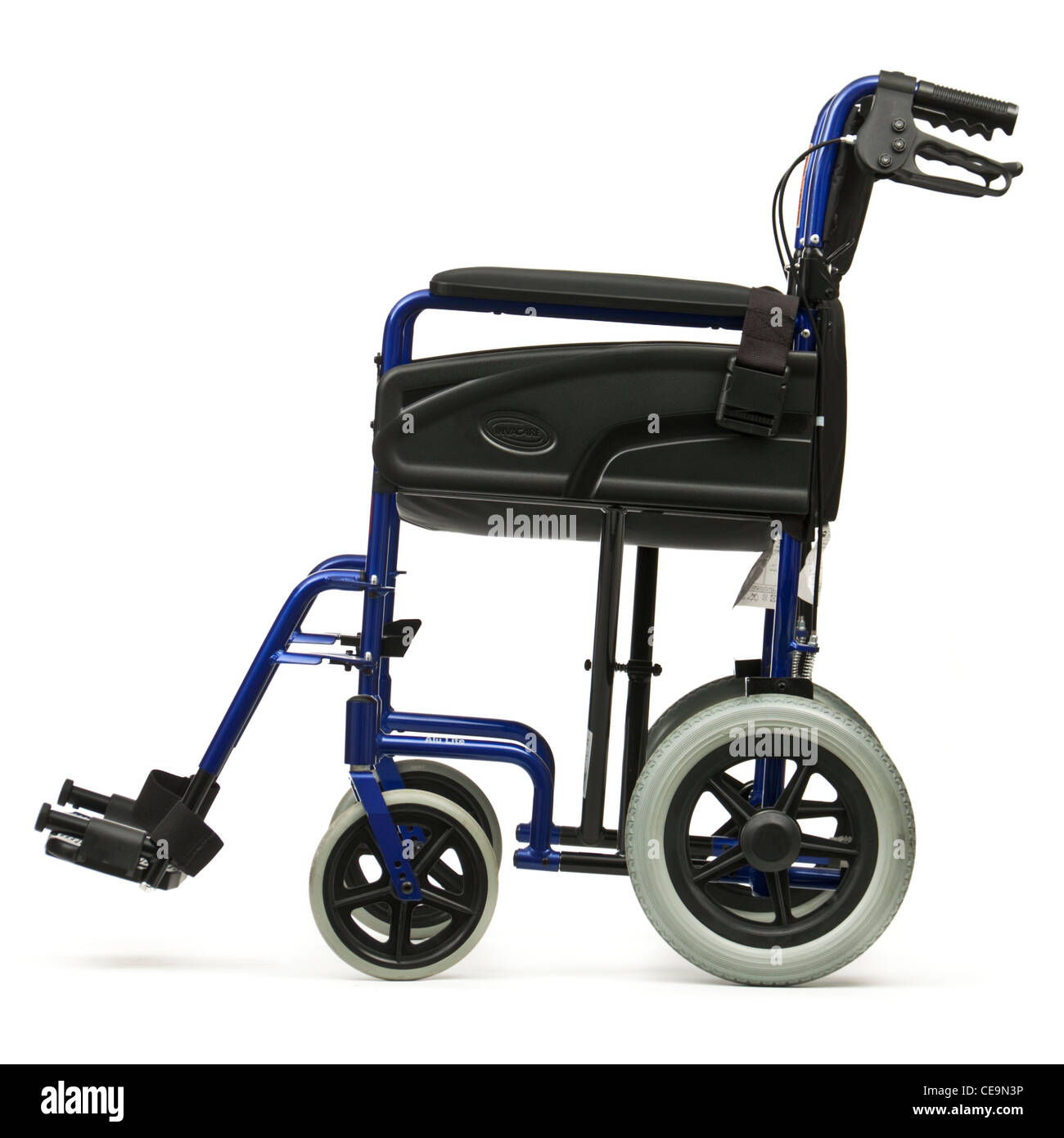 Manual transit wheelchair by Invacare - Stock Image