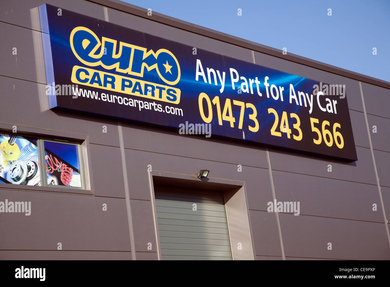 Euro Car Parts Depot Ipswich England Stock Photo 43241486 Alamy