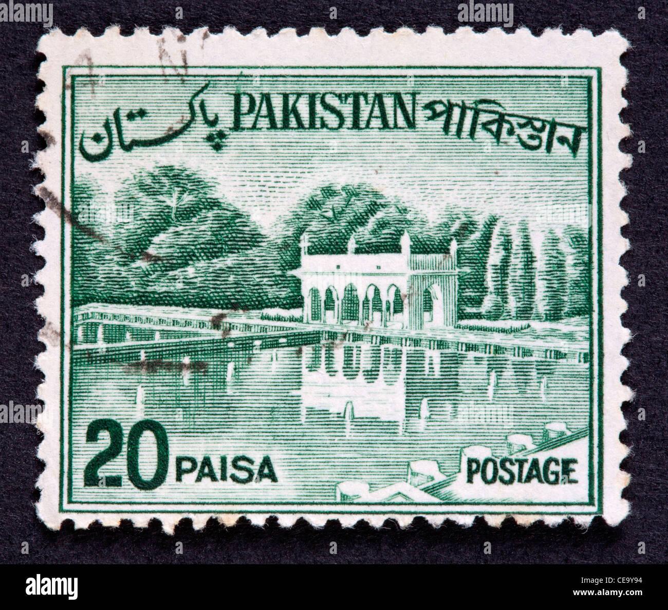 Pakistani postage stamp - Stock Image