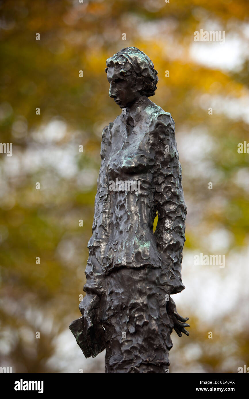 Emma Lazarus Sculpture On Liberty Island Writer Of New