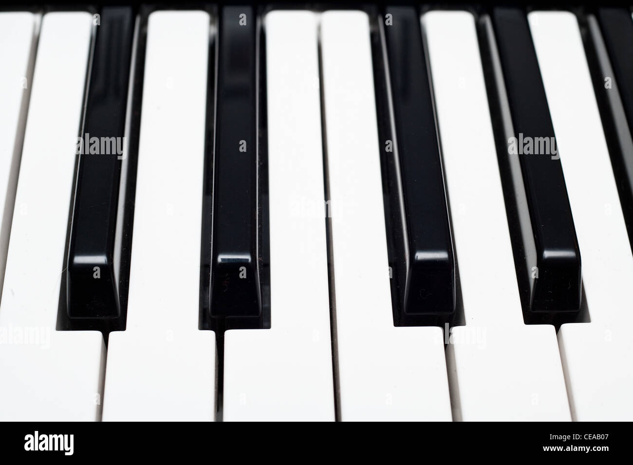 A Yamaha Keyboard - Stock Image