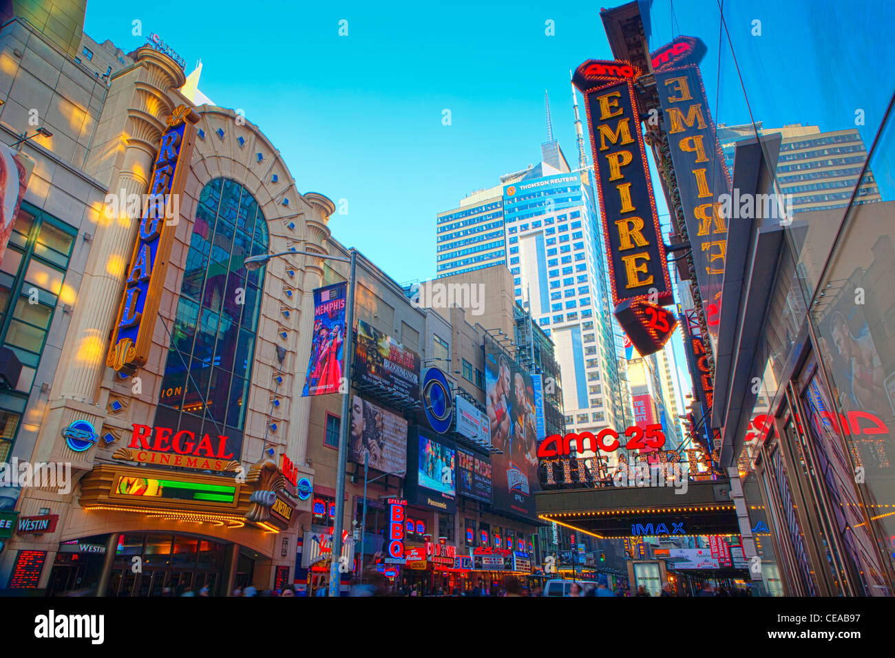 Movie theaters and new york city