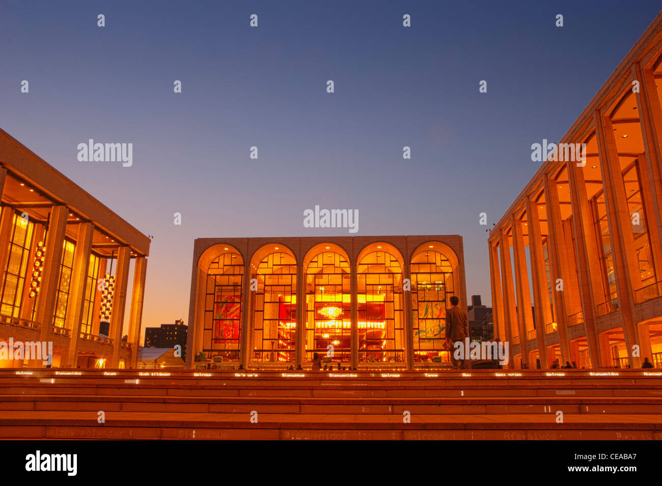 Lincoln Center for the Performing Arts - Stock Image