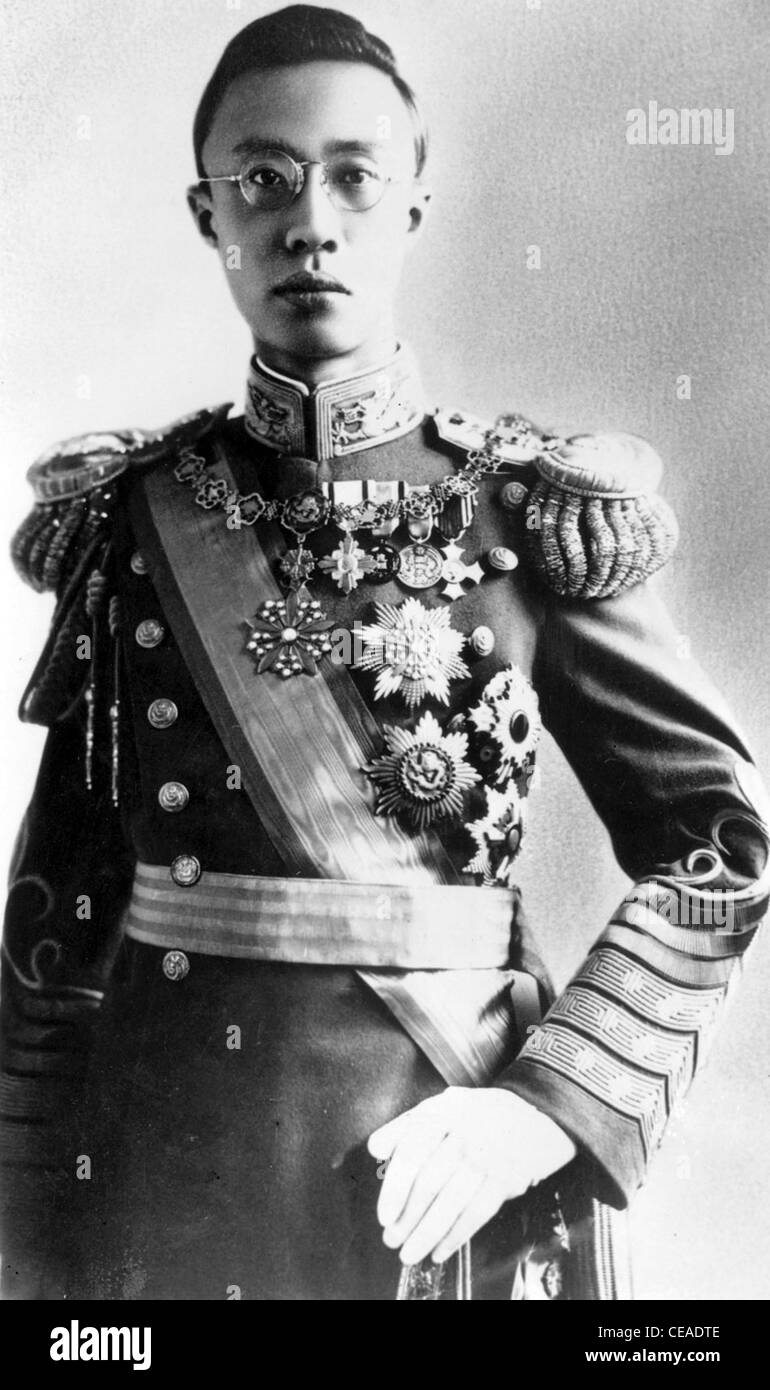 Puyi of the Manchu Aisin Gioro clan, was the last Emperor of China, and