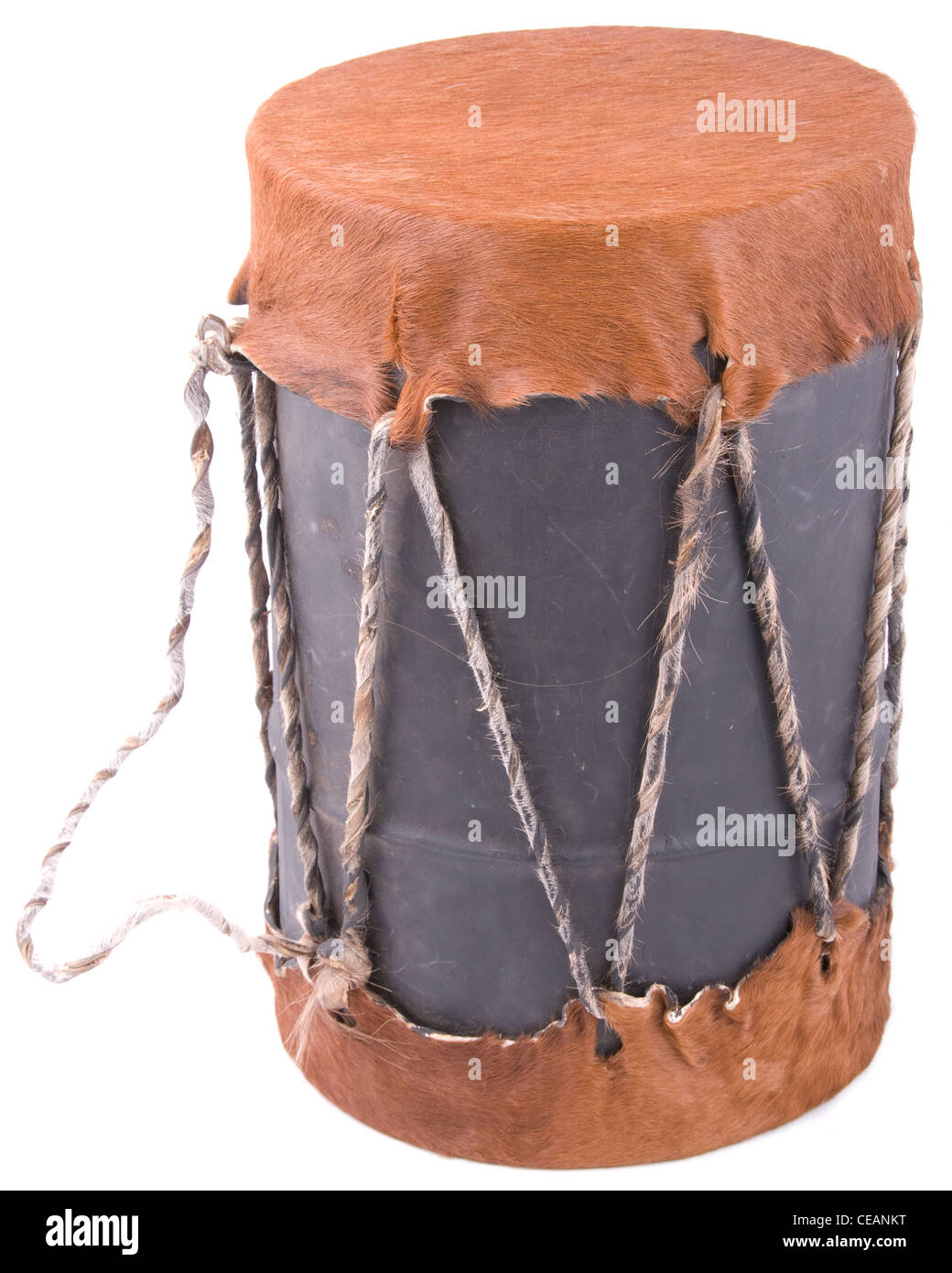 Traditional African  Drum - Stock Image
