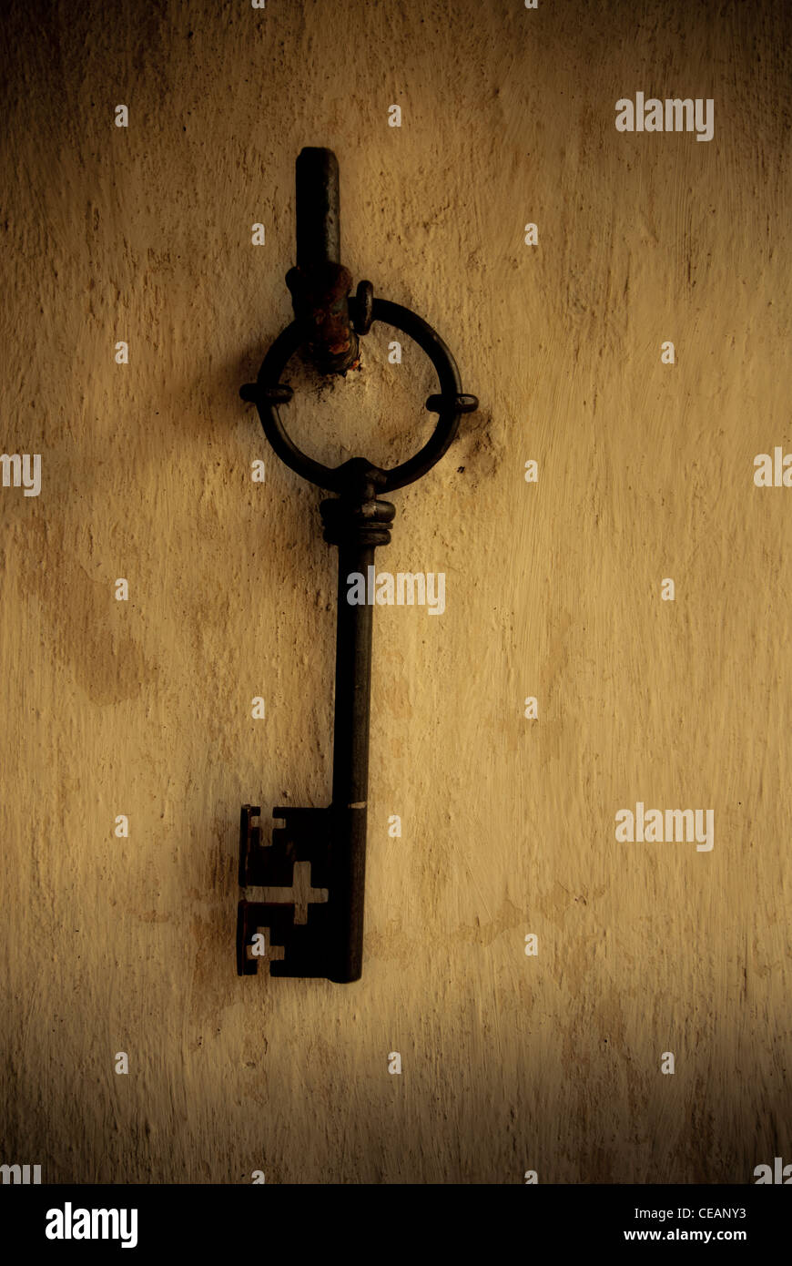 Crosses Hanging On Wall Stock Photos & Crosses Hanging On Wall Stock ...