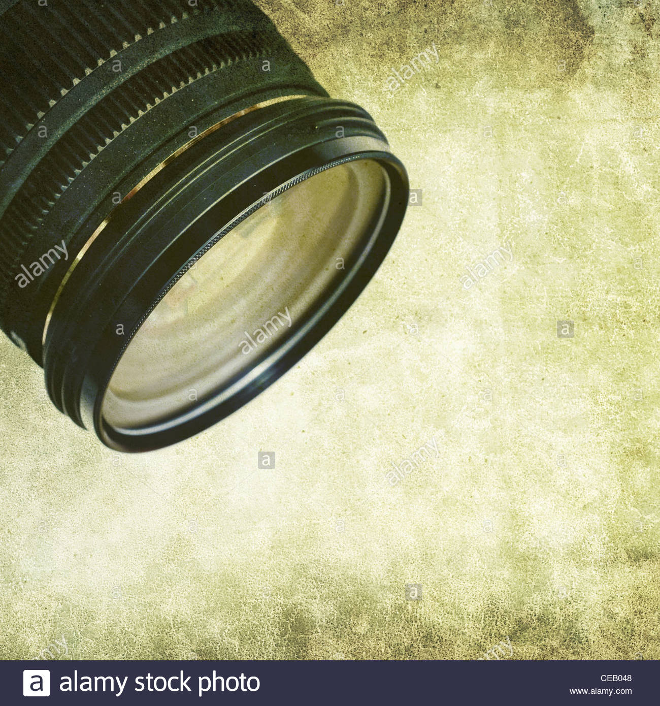 dirty lens - Stock Image