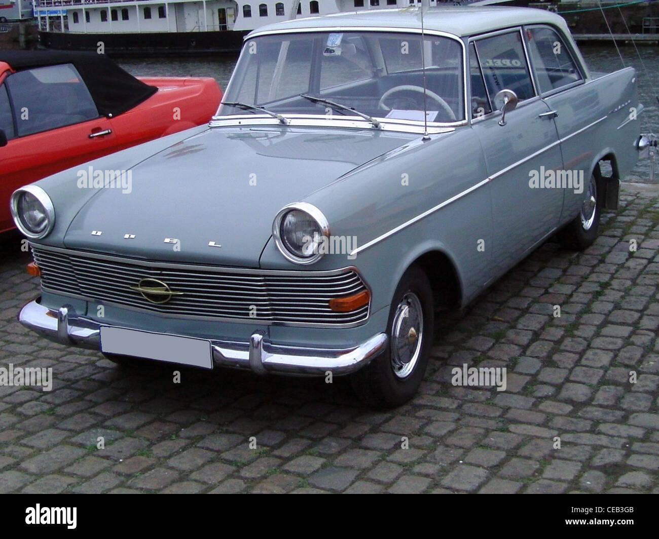 Opel Rekord P2 Stock Photo Alamy