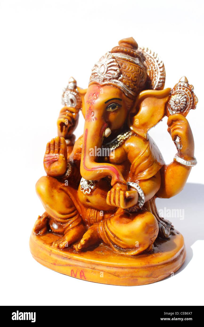 Idol of Hindu god, Ganeha - Stock Image