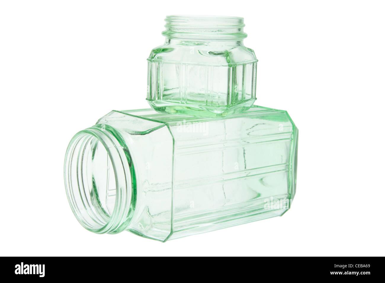 Glass Jars - Stock Image