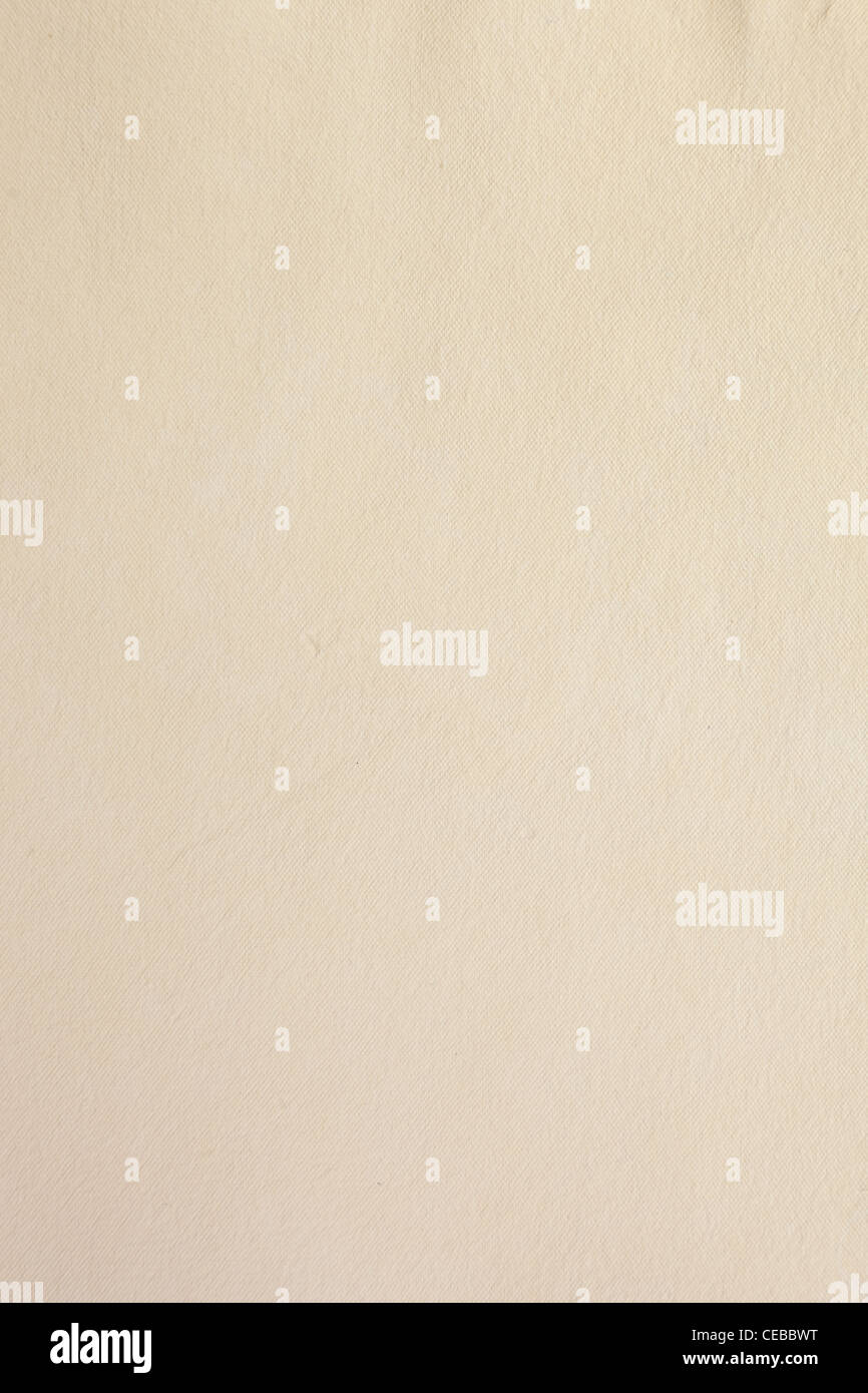 Texture of rough handcrafted paper for background - Stock Image
