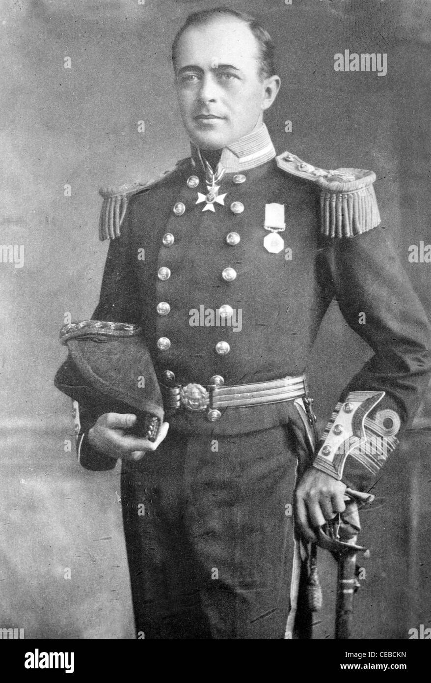 Robert Falcon Scott, Royal Navy officer and explorer - Stock Image