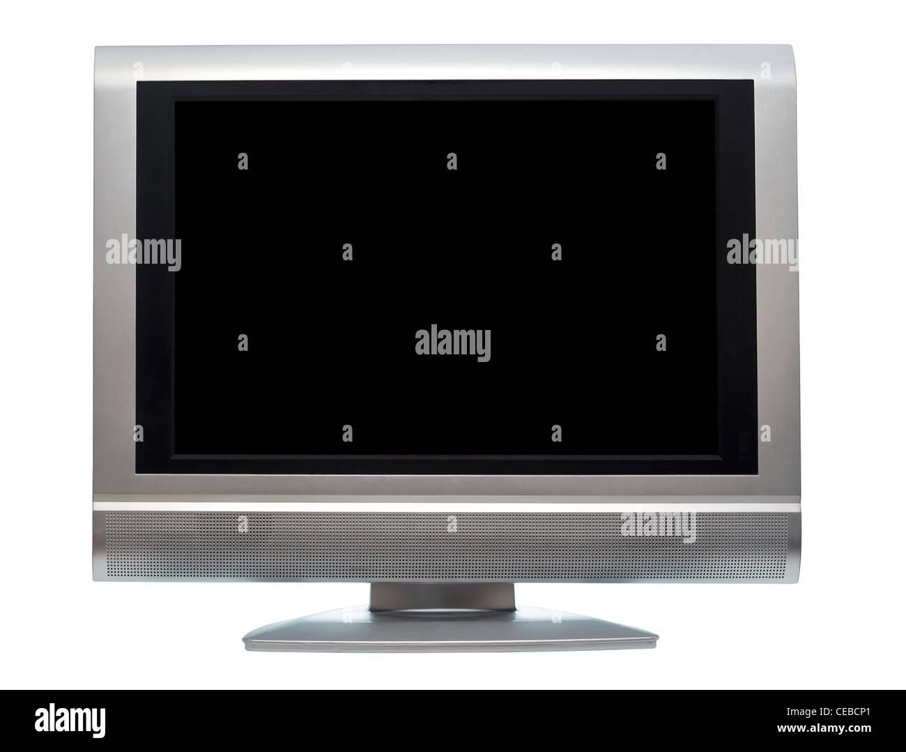 Flat Screen LCD Television Set - Stock Image