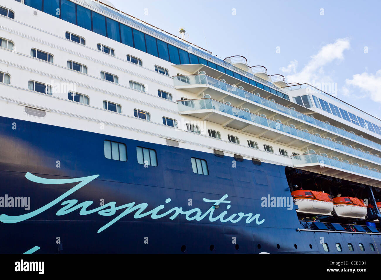 Mein Schiff 2 TUI Cruises Cadiz spain - Stock Image