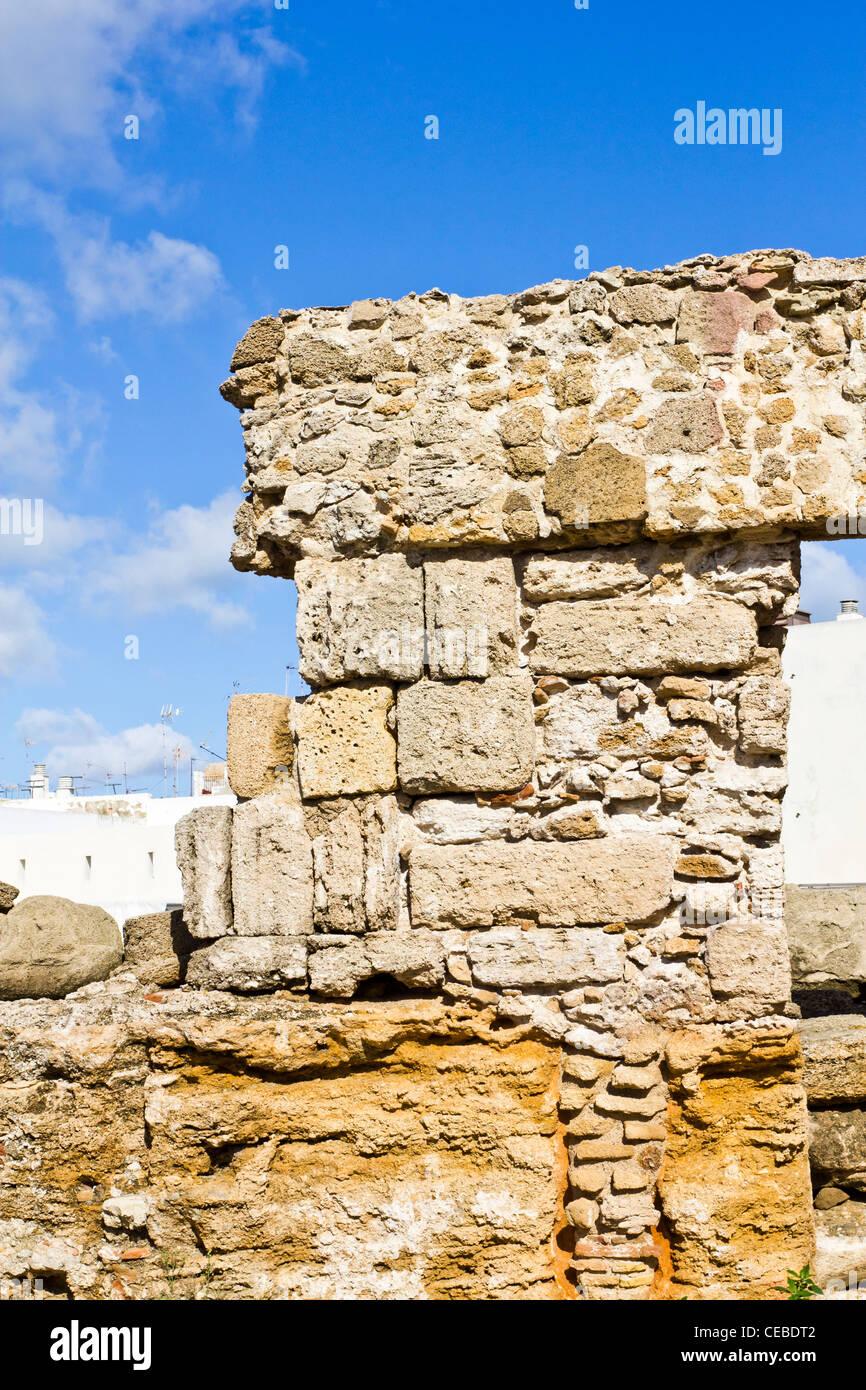 Ruins of 1st century bc roman theatre cadiz spain cadiz is one of ruins of 1st century bc roman theatre cadiz spain cadiz is one of the oldest continuously inhabited cities of europe publicscrutiny Images