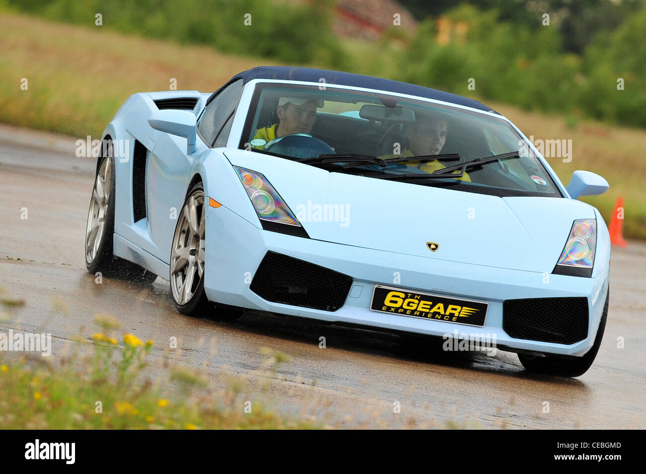 Supercars On Track Uk Lamborghini Gallardo Stock Photo 43280509 Alamy