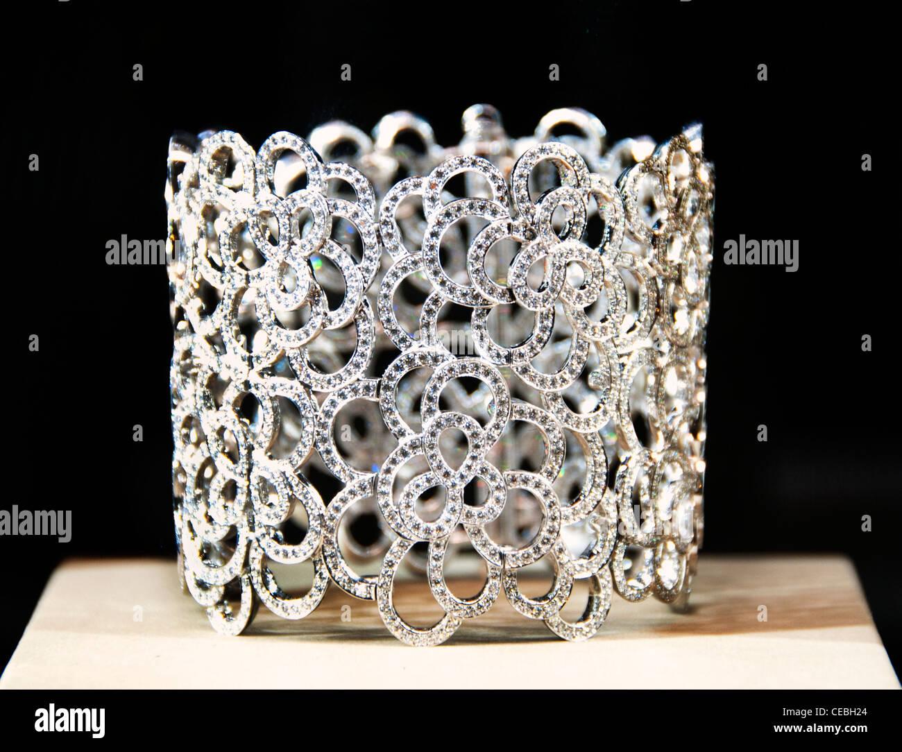 Chanel Place Vendome Jeweler Jewel Paris France - Stock Image