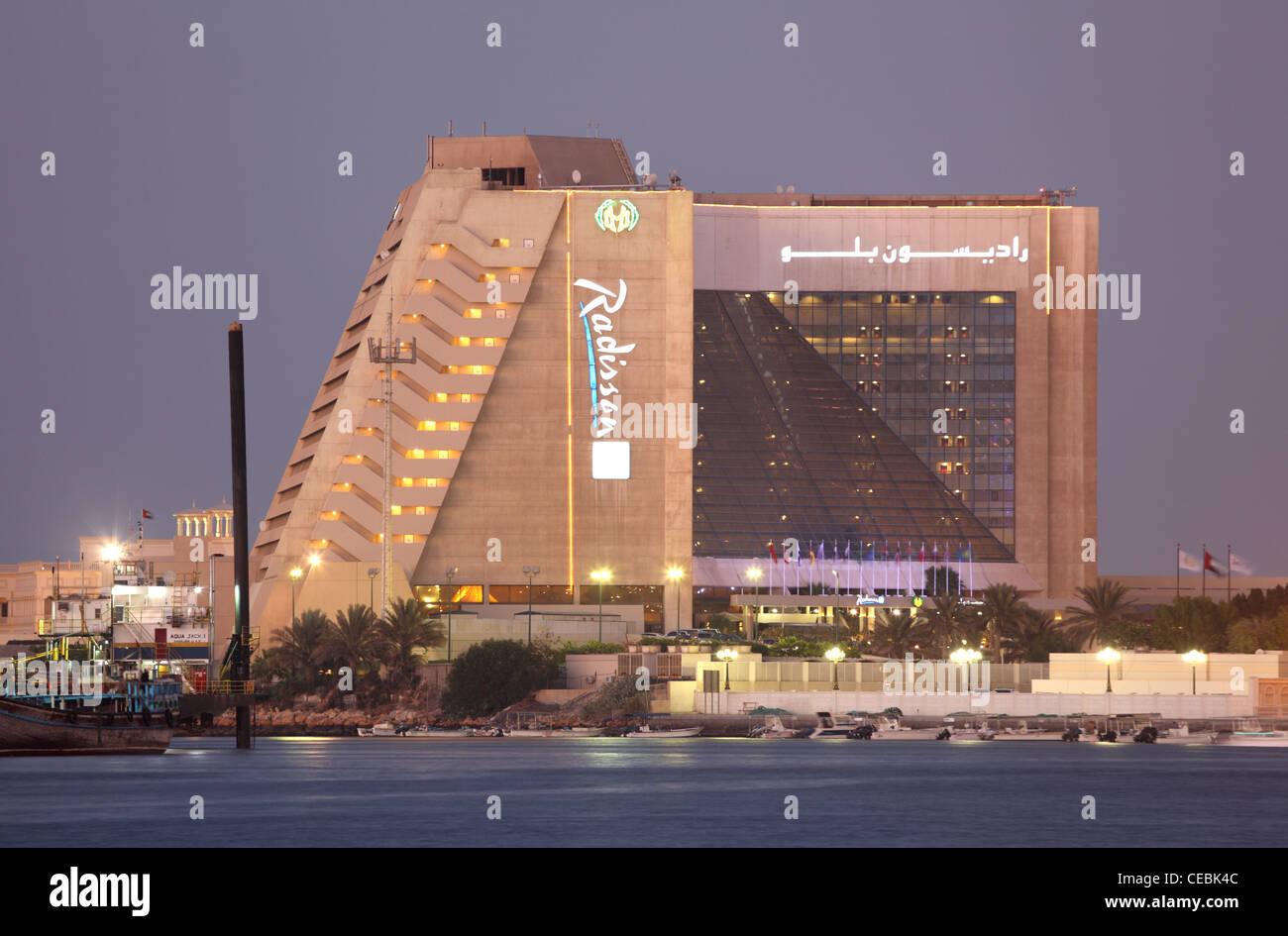 Radisson Hotel in Sharjah, United Arab Emirates - Stock Image