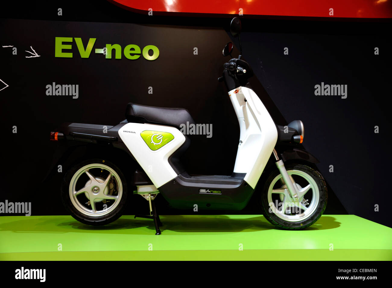 Honda Scooterev Neojapan Electric Bike Zero Emissionparis Stock
