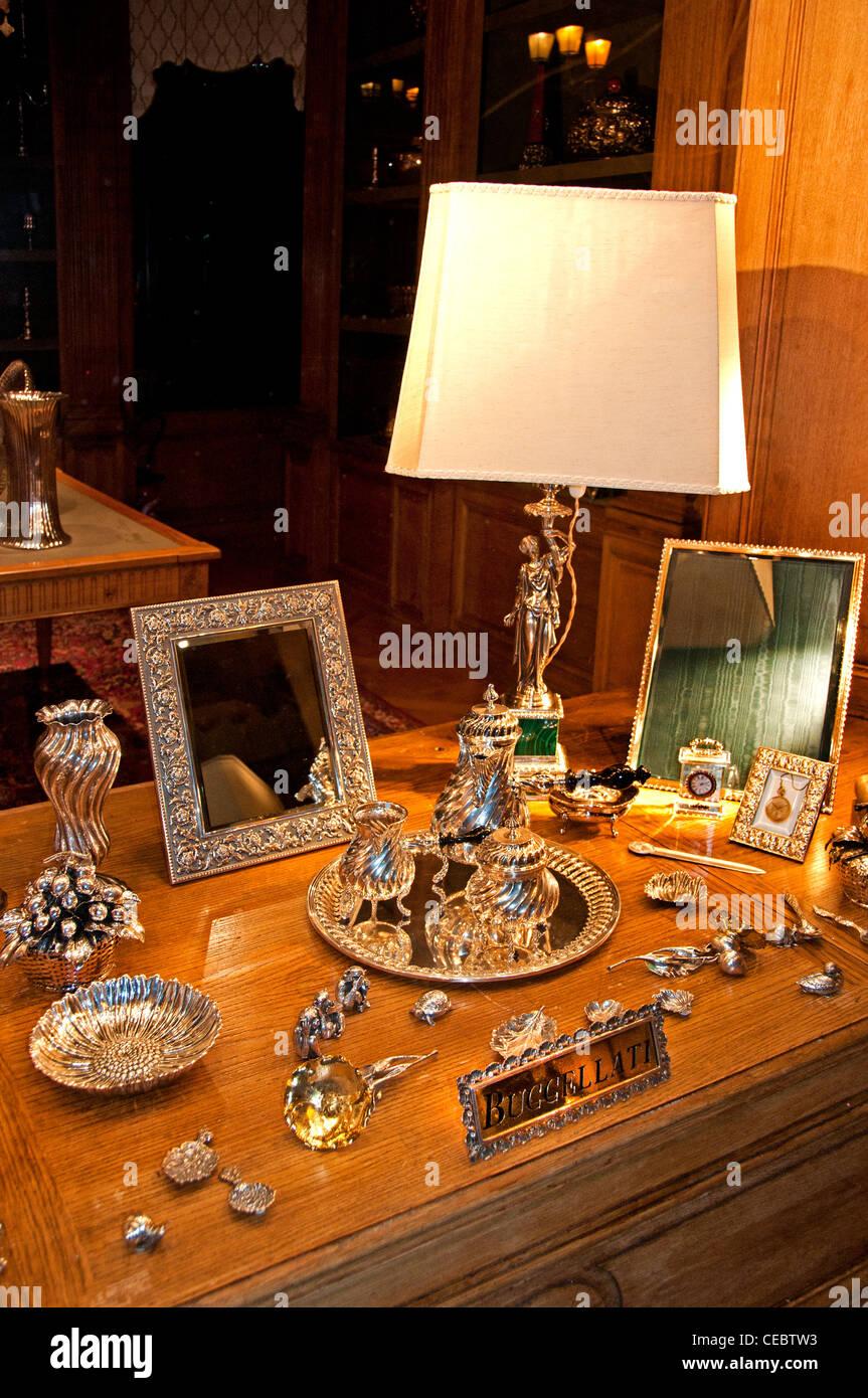 Buccellati Place Vendome jeweler jewel Paris France - Stock Image