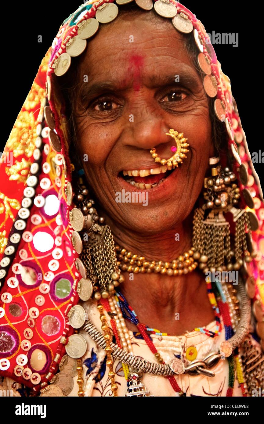 Lambani Tribe People Stock Photo - Alamy
