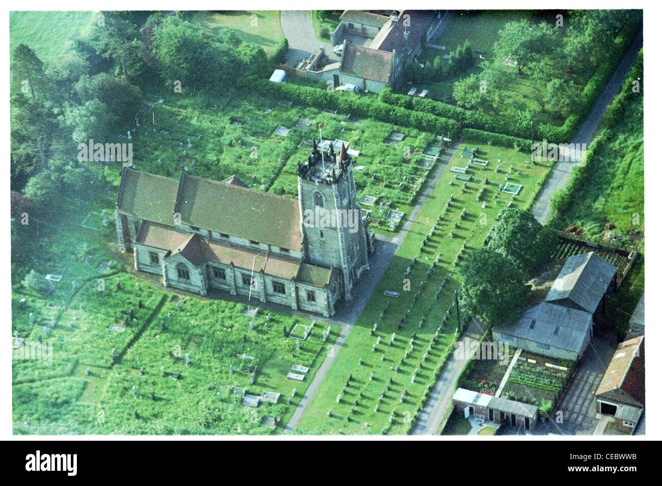 Oblique Aerial View At An Altitude Of 1500ft Part The Village Newport In