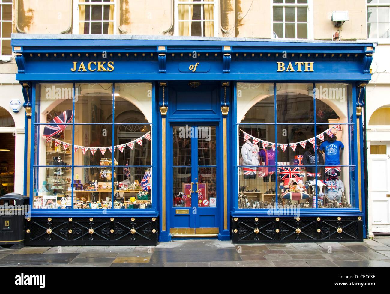 Jacks of Bath tourist gift shop Stock Photo: 43294147 - Alamy