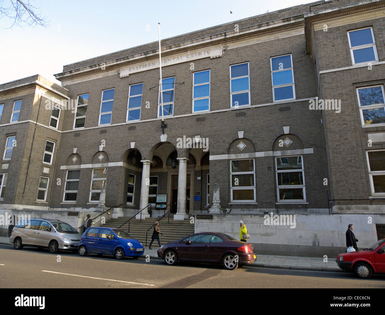 united kingdom london gray's inn road eastman dental hospital - Stock Image