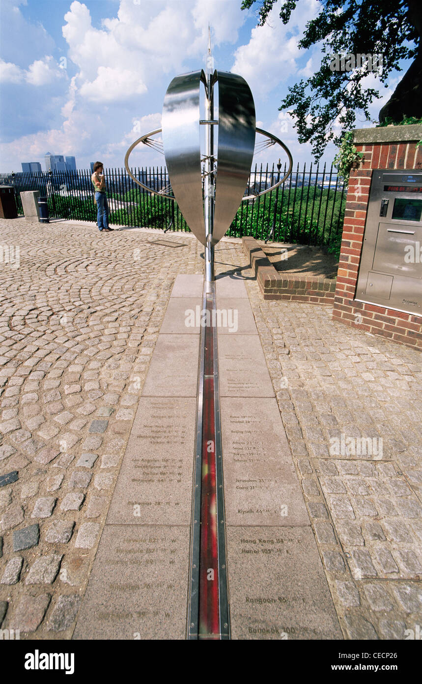 england london royal observatory greenwich meridian line stock photo 43306654 alamy. Black Bedroom Furniture Sets. Home Design Ideas