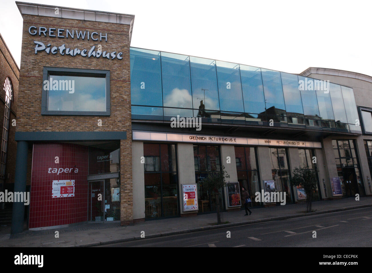 The Greenwich Picturehouse cinema in South London - Stock Image