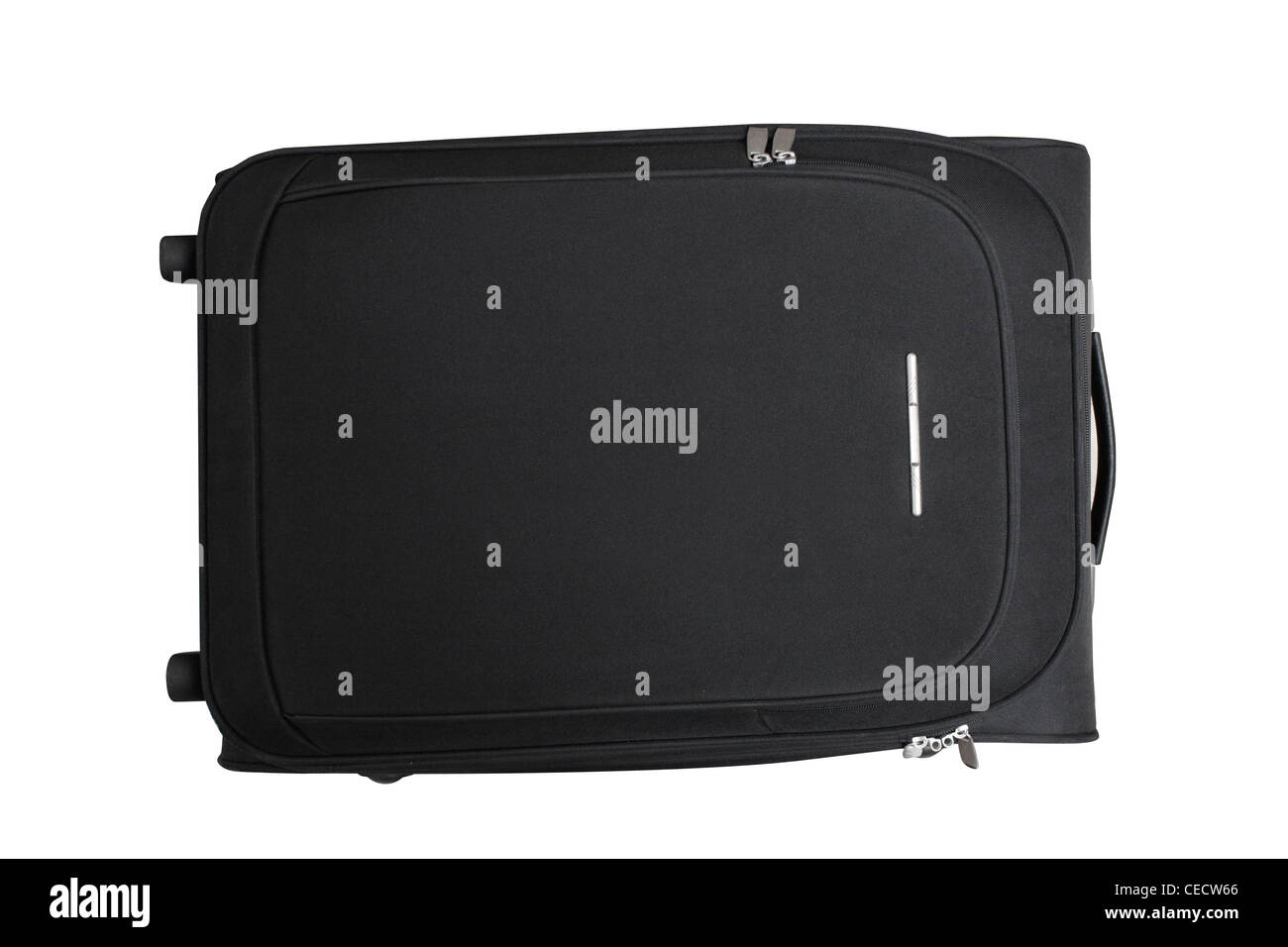 Black suitcase - Stock Image