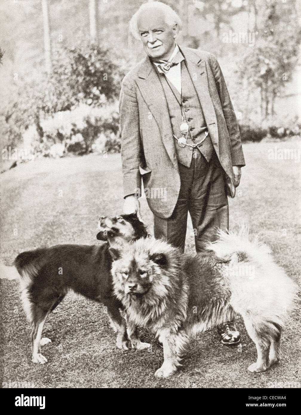 David Lloyd George, 1st Earl Lloyd-George of Dwyfor, 1863 – 1945. British Prime Minister. - Stock Image