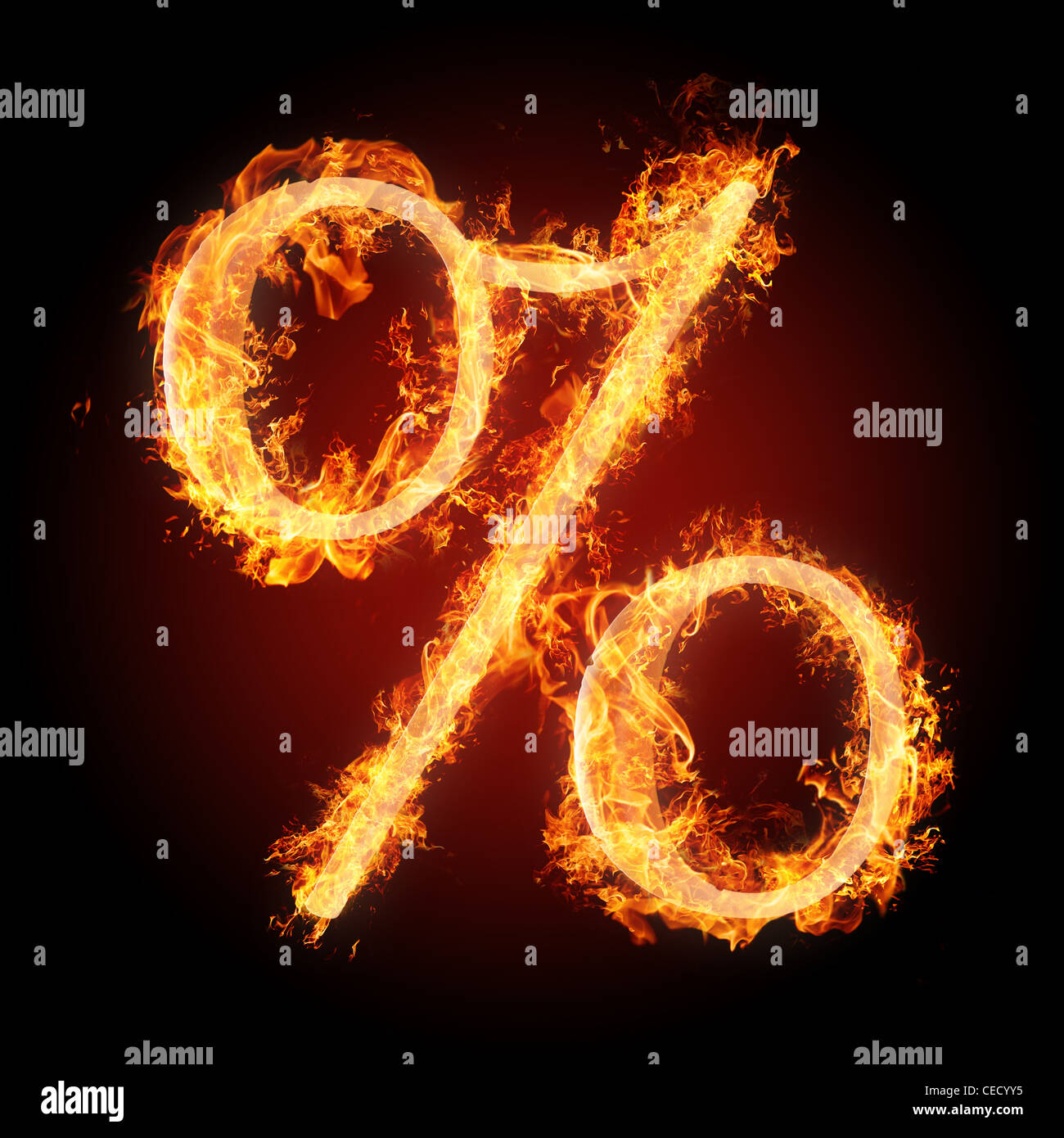 Letters and symbols in fire percent sign stock photo 43311273 alamy letters and symbols in fire percent sign thecheapjerseys Image collections
