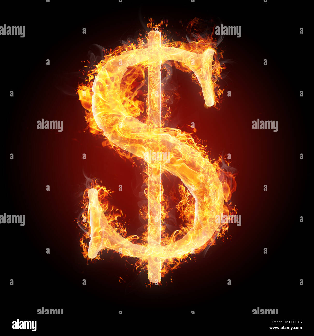 Letters and symbols in fire dollar sign stock photo 43311340 alamy letters and symbols in fire dollar sign thecheapjerseys Image collections